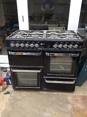 Flavel Aspen 100 Dual (Electric and Gas) Kitchen Range Cooker