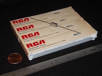Qty 4: Rare RCA 3-Layer Diode 1N5411 (Diac Point Contact 4-Layer) NOS Vintage