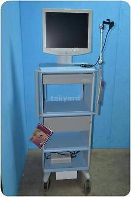 Boston Scientific Workstation Cart Tower W Sony Lmd1950Md/bs Lcd Monitor @ 1277