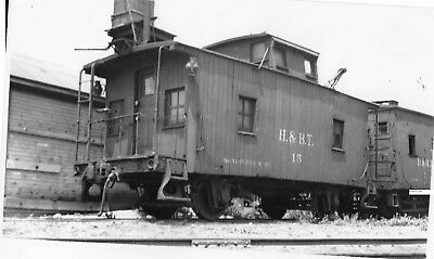 Huntingdon & Broad Top RR H&BTRR Photo Caboose #15