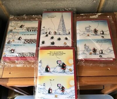 Greetings Cards Eric The Penguin Paper House Job Lot X 24