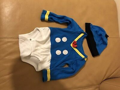 Disney Store Donald Duck Baby Costume Vest