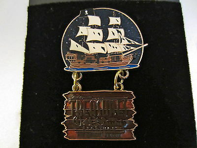 Disney D23 Archives Pirates of the Caribbean Black Pearl pin dangle