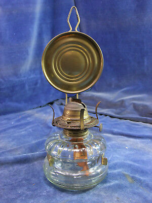 Vintage Glass Oil Lamp [5333]