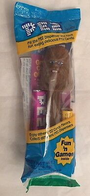 PEZ Star Wars CHEWBACCA PEZ Candy and Dispenser BRAND NEW IN PACKAGE