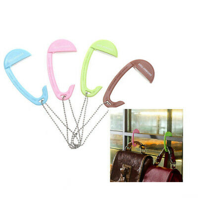 Bag Hooks for Hanging Portable Table Purse Bag Hook Wall Hanger Handbag Holder E