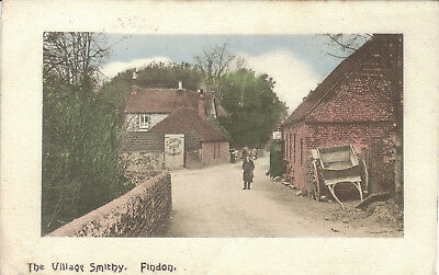 Findon The Village Smithy 1910