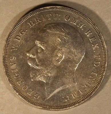 1935 Great Britain Crown Silver Jubilee Choice Toned ** Free U.S. Shipping **