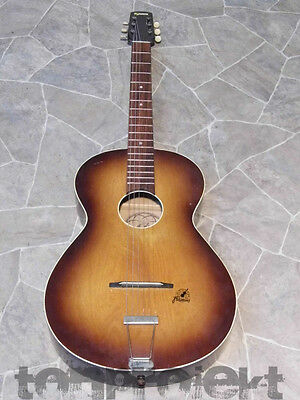 early FRAMUS Jazz BLUES guitar vintage parlor guitar Germany 1950`