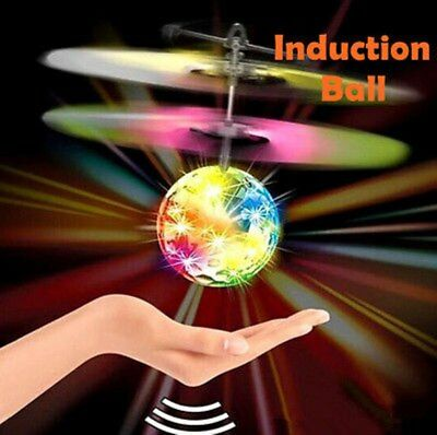 Glow Ball RC Fly Plane Toy Helicopter Induction Flying Drone Sensor Aircraft