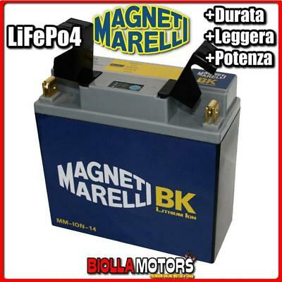 Mm-Ion-14 Batteria Litio 12V 28Ah 51913 Bmw R1150 Gs 1150 1999-2004 Magneti Mare