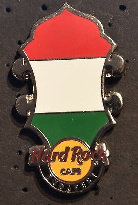 Hard Rock Cafe Budapest Core Headstock Flag Series 2014 pin