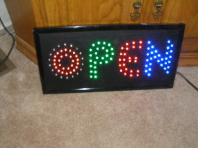 LED Multi Color Animated OPEN Store Sign