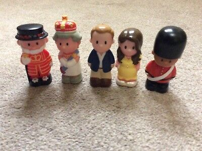 Elc Happyland Royal family figures