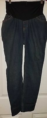 MOTHERHOOD MATERNITY Skinny  Jeans Pants M Medium Stretch Full Belly Panel  EUC