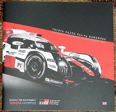 Le Mans 24 Hours/WEC 2017 Toyota Gazoo Racing Press Kit