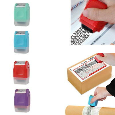 Charm 1Pc Guard Your Id Roller Stamp Selfinking Stamp Messy Code Security