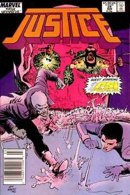 Justice (1986 series) #29 in Very Fine condition. FREE bag/board