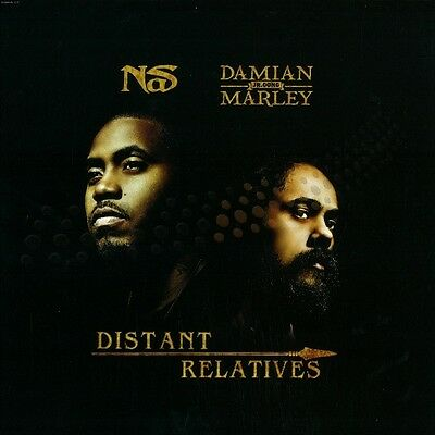 """Nas / Damian Marley """" Distant Relatives """" New *** Coloured Vinyl *** Lp"""