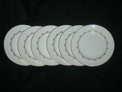 Royal Doulton Rondo H4935 Pattern 6 x Salad or Dessert Plates 8 inches (20cm)