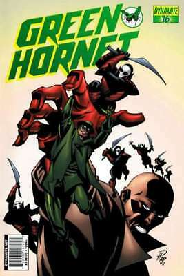 Green Hornet (2010 series) #16 in Very Fine condition. FREE bag/board