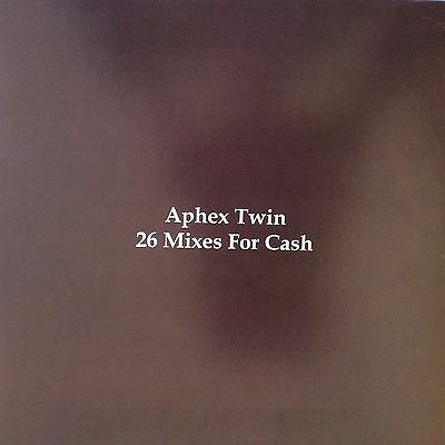 "Aphex Twin "" 26 Mixes For Cash "" New 4 X Lp Set ** Coloured Vinyl **"
