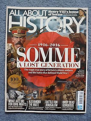 All About History  No 40  The Somme Anniversary