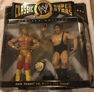 * Hulk Hogan vs Andre the Giant * WWE Jakks Pacific Classic Superstars *