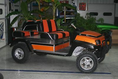 Golf Cart Custom Club Car Ninja Powered!