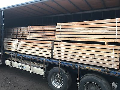 Chestnut Sleepers Landscaping Construction Railway
