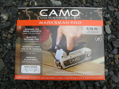 CAMO Marksman Pro Fastener Tool Heavy Duty Edge Deck Fastening System 0345001
