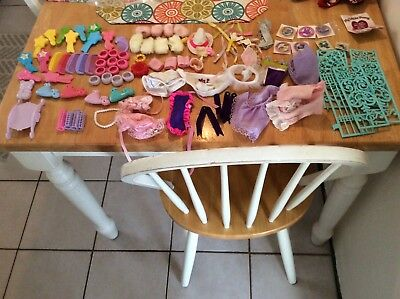 Vintage MY LITTLE PONY LOT COMBS-BRUSHES-CLOTHES ACCESSORIES  PLUS MORE