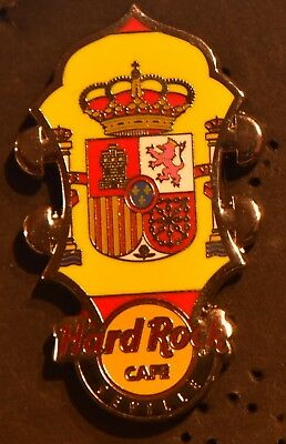 Hard Rock Cafe Seville Core Headstock Flag Series 2014 pin