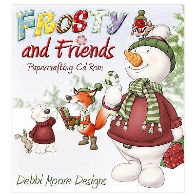 Debbi Moore Frosty and Friends Papercrafting CD ROM (328147)