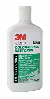 18-ounce Paste Adhesives, Sealants & Tapes Business & Industrial Bright 3m 09019 Marine Metal Restorer And Polish