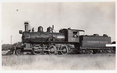 Yosemite Valley RR YVRR Photo Locomotive #27 Merced Calf 1938