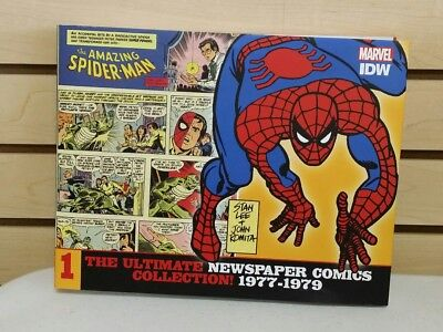 Amazing Spider-man Ultimate Newspaper Comics Collection Vol 1 Hardcover 1977-79