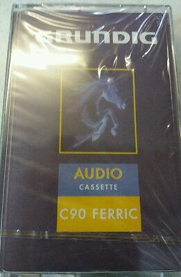 Grundig C90 Audio Cassette Tape.