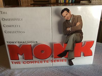 Monk: The Complete Series (DVD, 2010, 32-Disc Set, Limited Edition With...