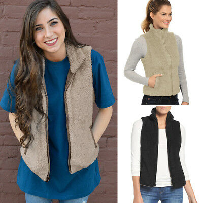 Gilet Jacket Overcoat Outwear Waistcoat Women Fashion Warm Slim Vest Coat