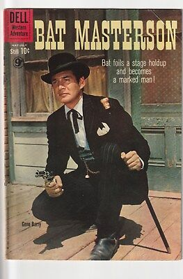 Bat Masterson  Number 3  .dell Comics 1960. Tv Related Western