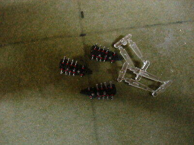 Battlefleet Gothic 3 X Chaos Raiders Lot 3 Painted