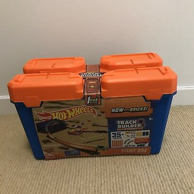 Hot Wheels Track Builder Stunt Box - As New