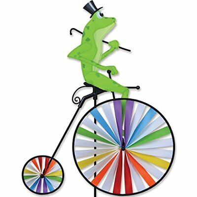 High Wheel Bike Spinner - Frog by Premier Kites - NEW - FREE SHIPPING!