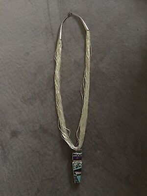 50 strand liquid silver Ray Tracey necklace