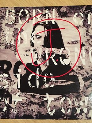 """J - Born On The Wrong Side Of Town  7"""" Vinyl Ps"""