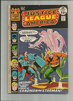 Justice League Of America #94 4.5-5.5 Free Comb Shipping3.5