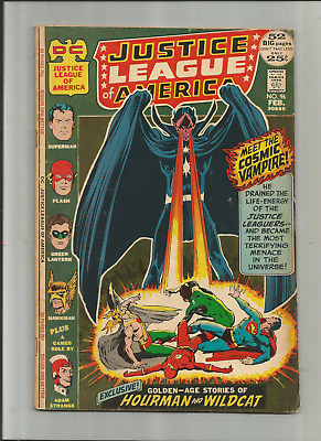 Justice League Of America #96 4.0-5.0 Free Comb Shipping