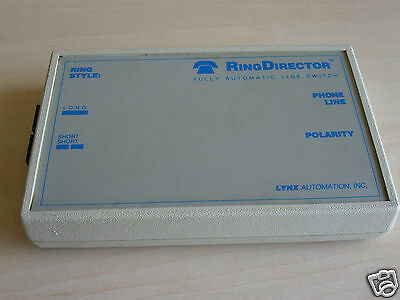 LYNX Automation, inc RingDirector Fully Automatic Phone Line Switch
