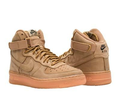 612abdbeac NIKE AIR FORCE 1 High flax wheat 922066 203 BOY Girls women GS PS New All